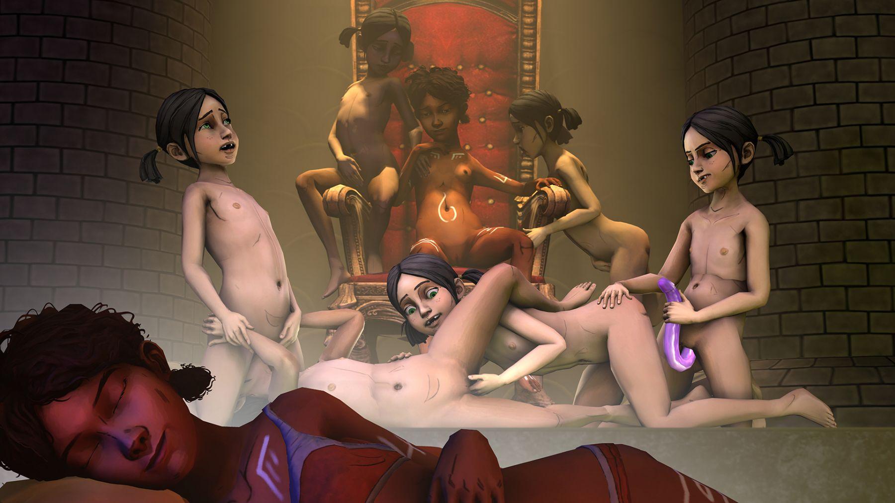 3d hentai the arts of lesbian ninja sex hd 5