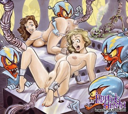 Порно комикс монстры