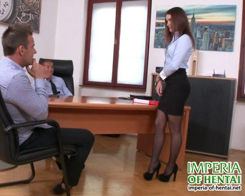 Elena is very beautiful secretary