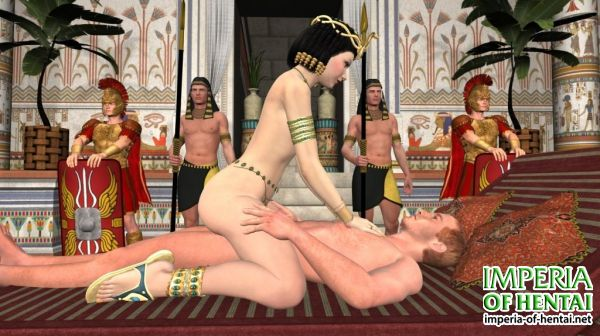 Cleopatra and Cesar