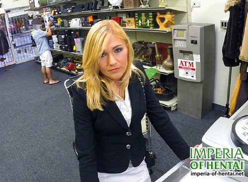 XXXPawn - Holly Marie Bryn - Hot Milf Banged At The PawnSHop [SD 480p]