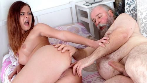 Alyona - Young russian girl anally fucked by an old doctor who came to treat her headache (2013/OldYoungAnal.com/FullHD)