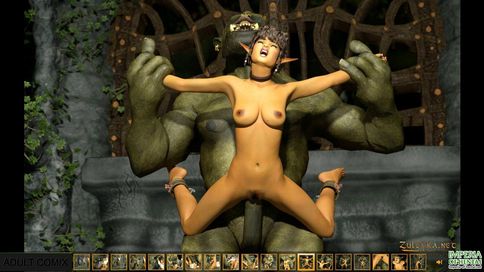 3d elf slave girl naked picture
