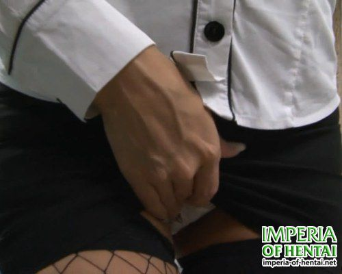 Secretary Marina and anal in the waiting room