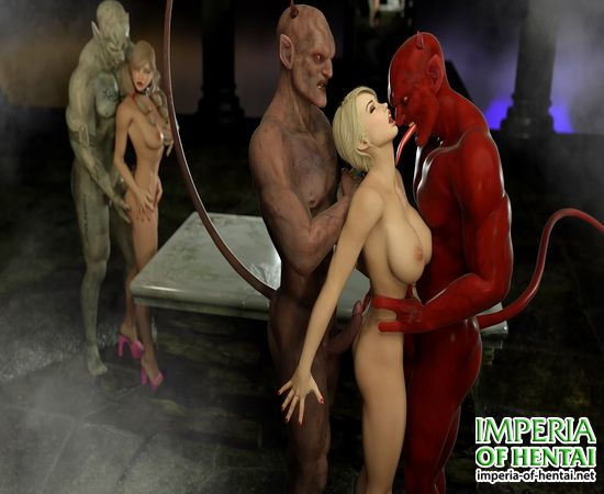 3DZen - Jessica and Ellie - The Demon Doll House