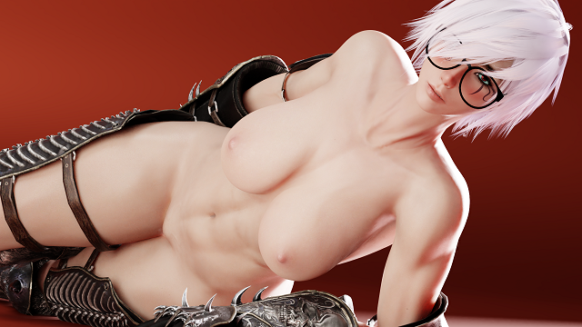 [tabboomilky (taboo milky)] 3D art collection